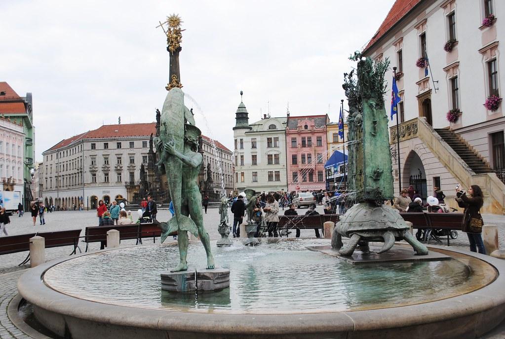 Horní náměstí, Olomouc, Czech Republic