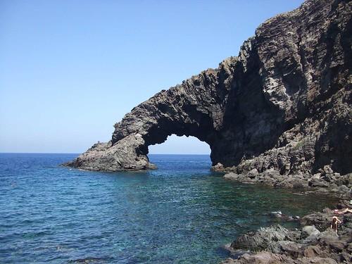 Pantelleria 2007 arco dell'elefante