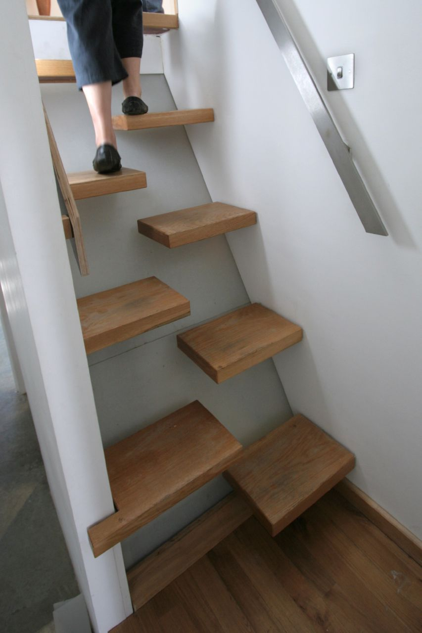 Space Saving Stairs | Flickr - Photo Sharing!