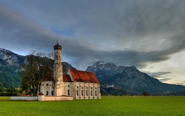 Sankt Coloman & Schloss Neuschwanstein & Schloss Hohenschwangau