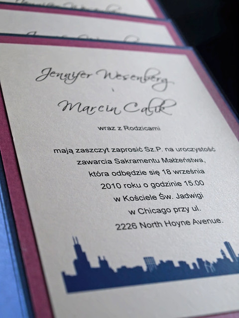 Chicago Wedding Invitations is the best ideas you have to choose for invitation example