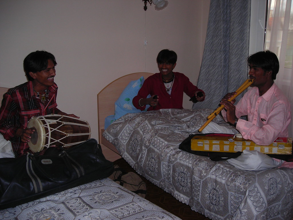 Rajasthani Musicians Tour Russia may 2007 | nitinhrsh | Flickr