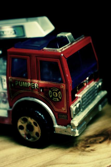 urban acid fire truck