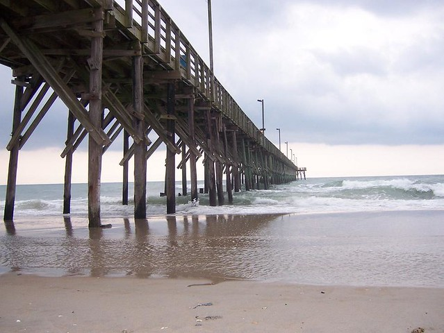 Topsail beach a gallery on flickr for Topsail fishing pier