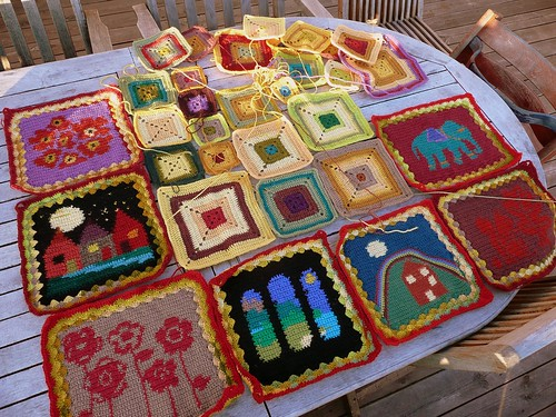 Growing Babette blanket