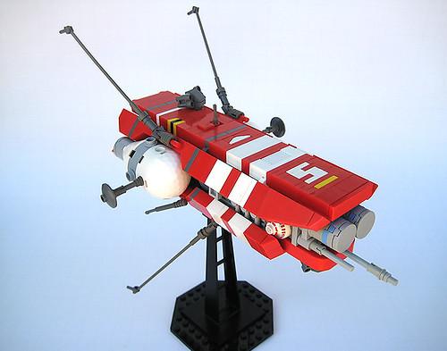 """Electronic Warfare Frigate """"Kitsune"""""""