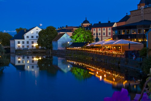 Uppsala evening shot