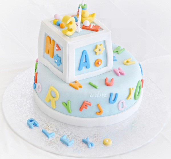 Cake Images With Letter S : Alphabet Birthday Party 3 Flickr - Photo Sharing!