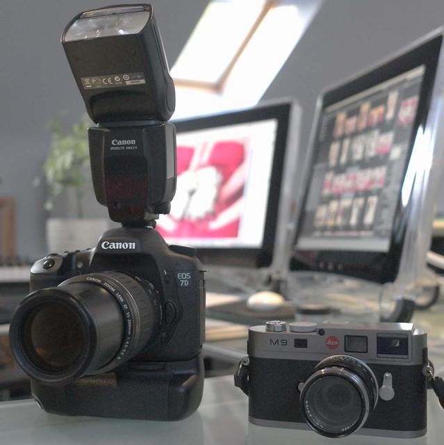 Canon 7D Leica M9