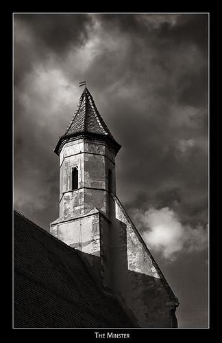 tower church cloister minster