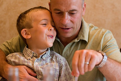 child, father, portrait photography, people, male, man, person, interaction,