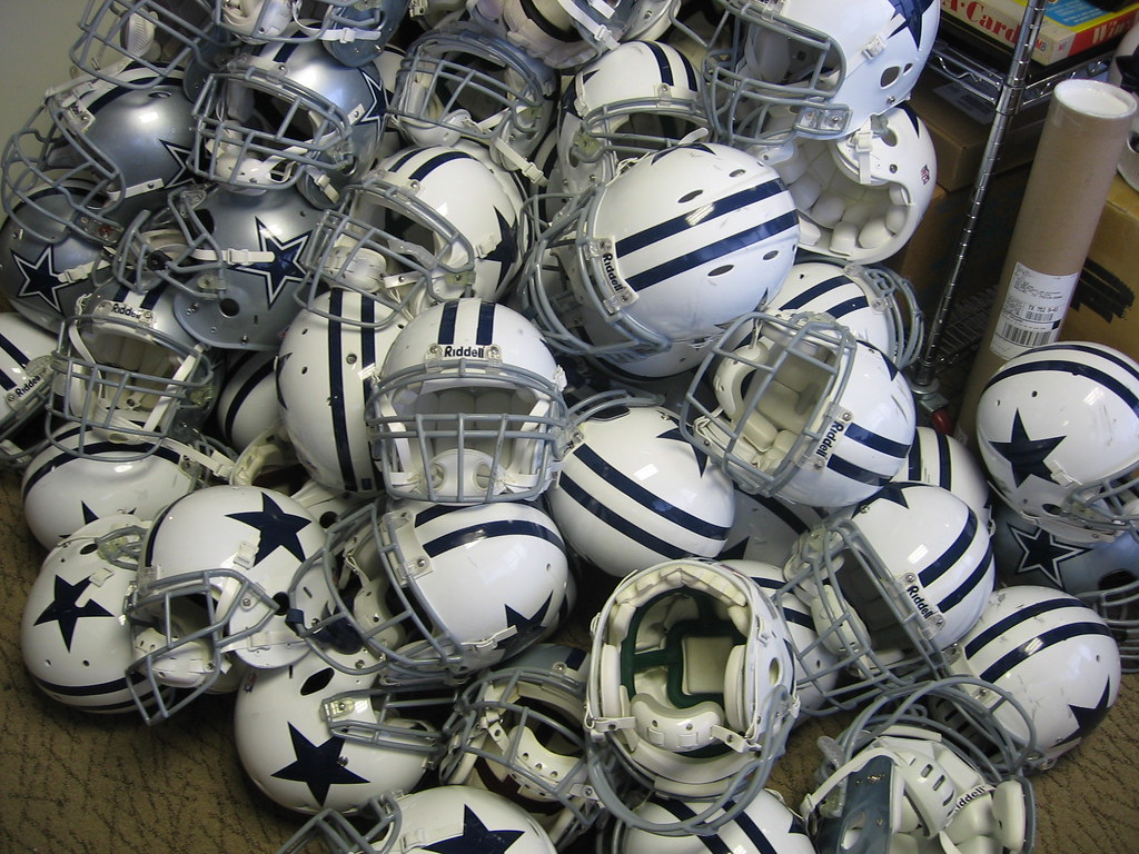 Dallas Cowboys Helmets