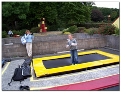 trampolining--equipment and supplies, play, leisure, games, trampoline, inflatable,