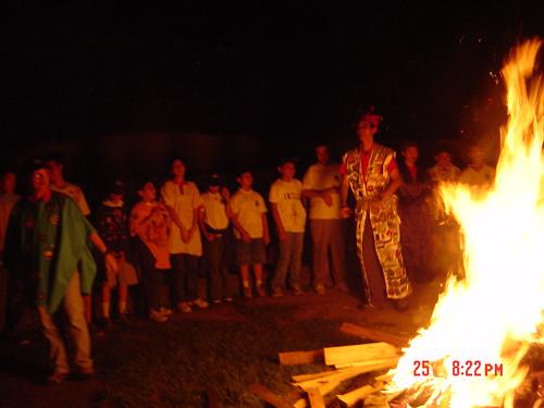 2002旅部金禧聯旅營火晚會