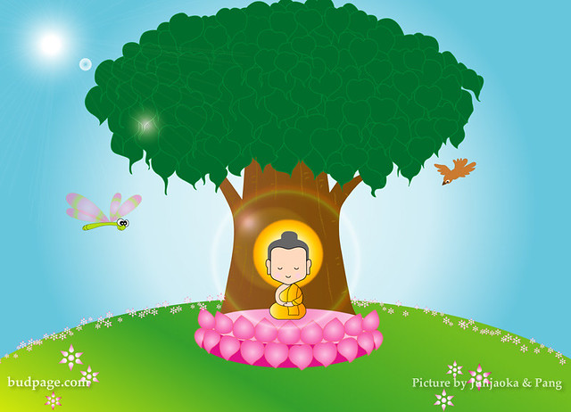 Buddha Cartoon Flickr Photo Sharing