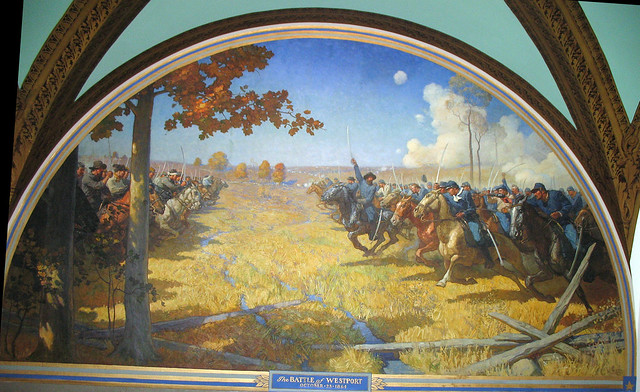 Battle of Westport in Missouri State Capitol