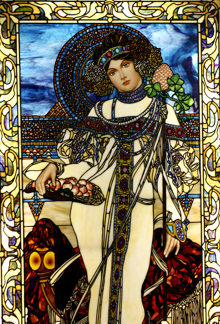 Alphonse Mucha Autumn | Flickr - Photo Sharing!