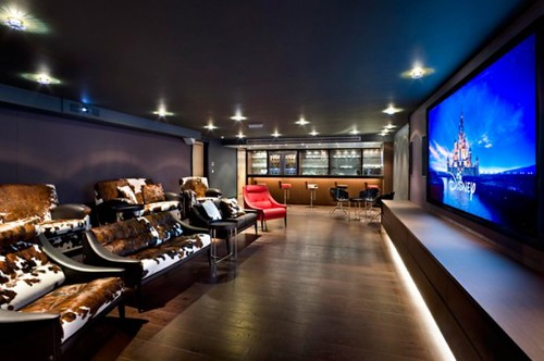 Design Inspiration: 15 Cool Home Theater Design Ideas