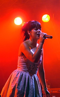 Lily Allen - In the Red - Live at Somerset House, London England - July 16th 2007