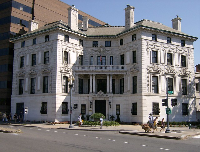 Dupont circle mansion patterson mansion flickr photo for Dupont house