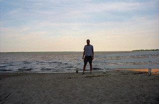 Me and the Rappahannock River from Tappahannock
