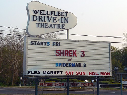 Wellfleet Drive-in Theatre, Cape Cod MA