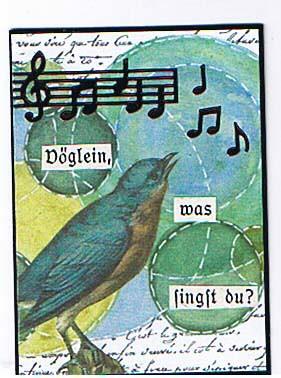 Vöglein, was singst du