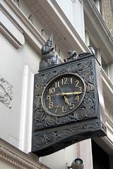 NYC - Rose Hill: Schwarzenbach Buildings South - Silk Clock
