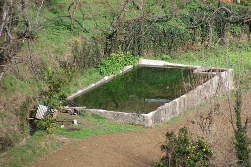 Tanque de água. Castelo de Paiva