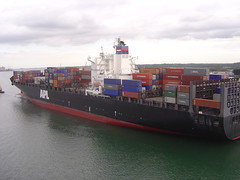 vehicle, freight transport, ship, cargo ship, panamax, watercraft, container ship, waterway,