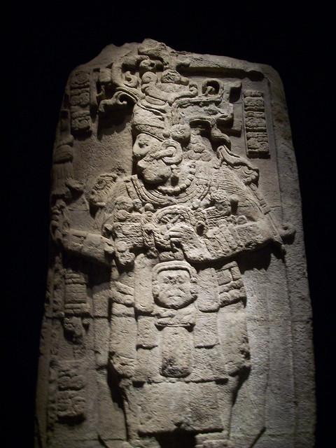 Estela 51 de Calakmul, Campeche
