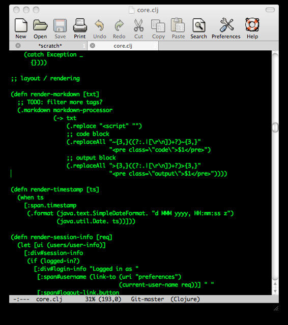 color-theme-retro-green on Emacs 24 | Wisdom and Wonder