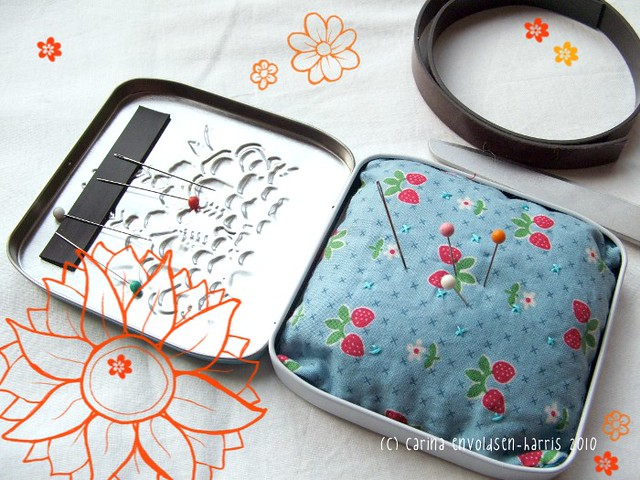 Sewing Kit Tin, Fujifilm FinePix S3100