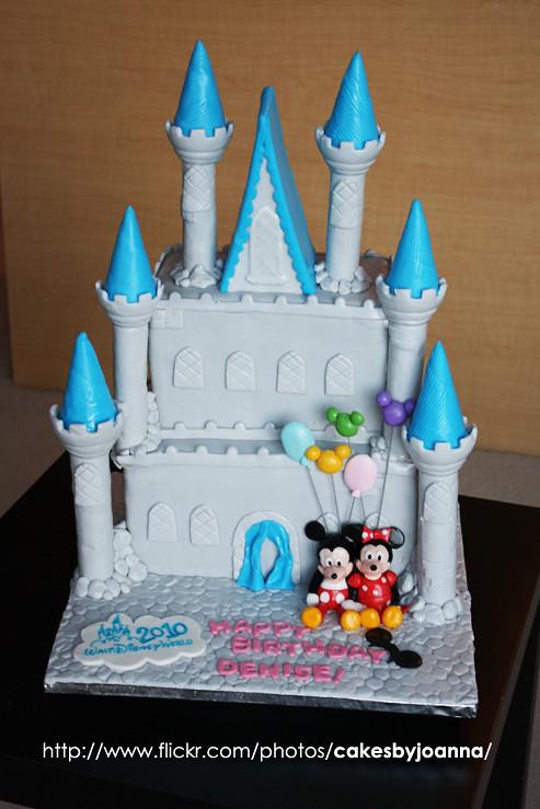 Disney Castle Cake A Photo On Flickriver