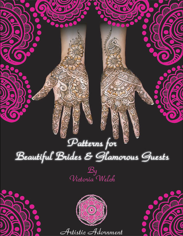 Cover of Henna Design Book :  Patterns for Beautiful Brides & Glamorous Guests by Victoria Welch height=800