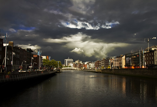Clouds over Dublin