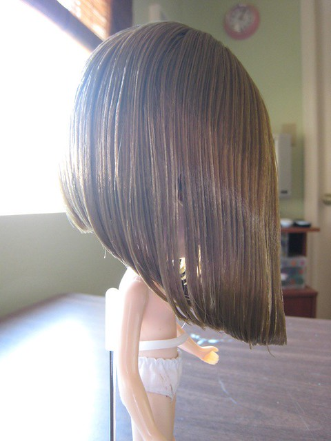 Hair Trim | I washed Gracie's hair last night and trimmed ...