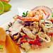 Peruvian food: Ceviche mixto