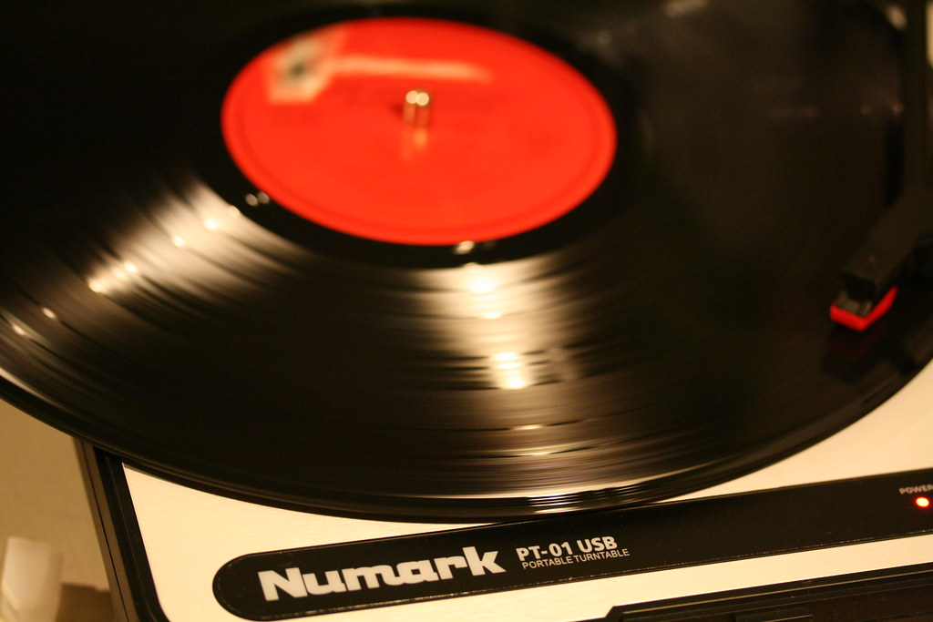 5/365 - Love my Numark PT-01 USB turnable!!!