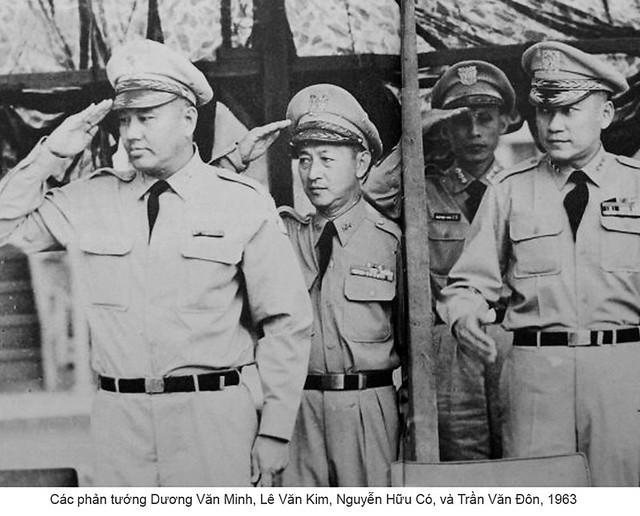 các phản tướng tham gia đảo chánh 1-11-1963