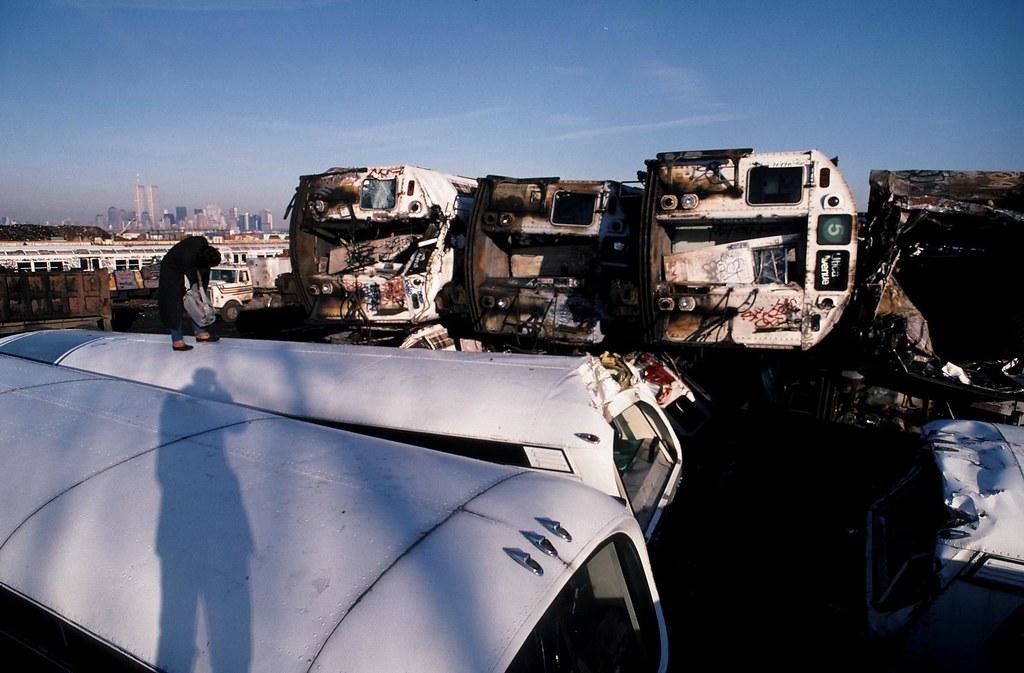 WTC 34 - abandoned subway cars