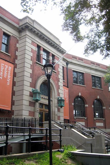 NYC Brooklyn Williamsburg Brooklyn Public Library