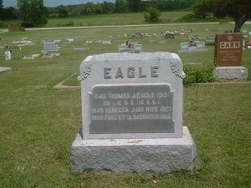 hobby biography civilwarveteran tombstonephoto buffalocemetery bornin1843 coc114thohinfantry thomasjeagle coi16thohinfantry buffalokansas