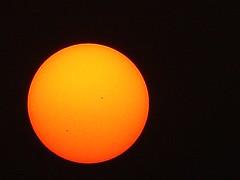 The Sun Spots