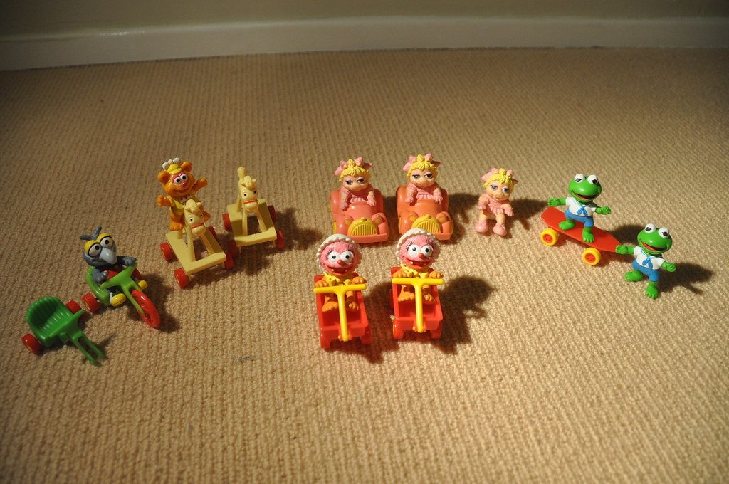 McDonalds Muppets Happy Meal Toys