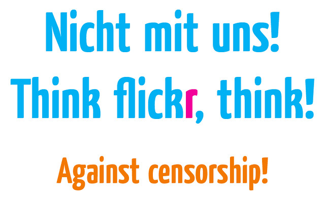 No flickr censorship with me!