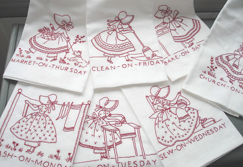 Embroidery Tea Towels Free Embroidery Patterns