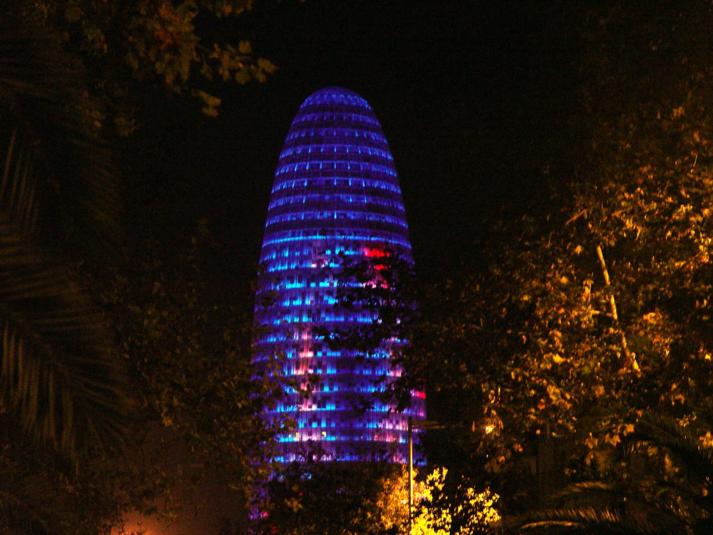 Torre Agbar barcelona photo