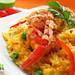 Peruvian food: Risotto de camarones