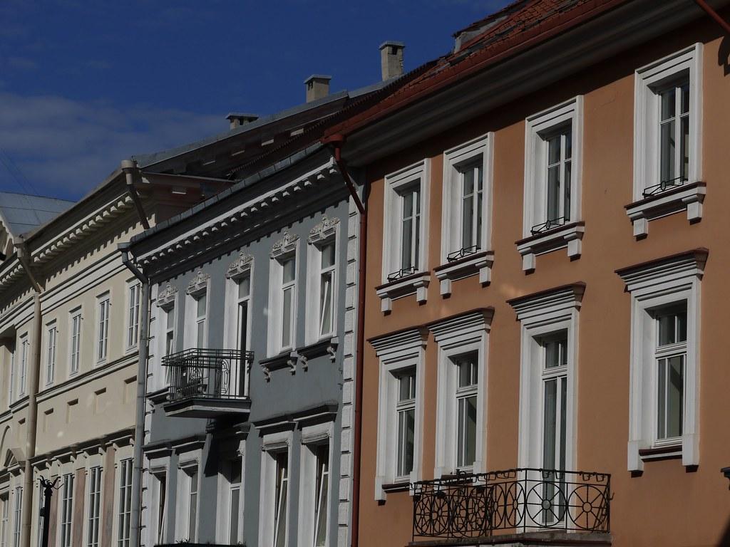 Buildings Along the Street